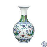 c-Exquisite colorful porcelain