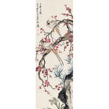 s-Zhang Daqian birds and flowers